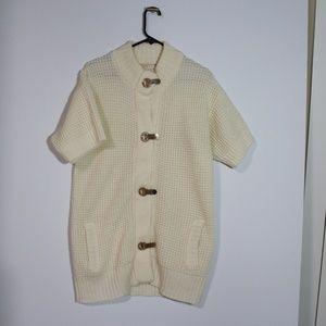 Micael Cors Metal clasp sweater Tunic